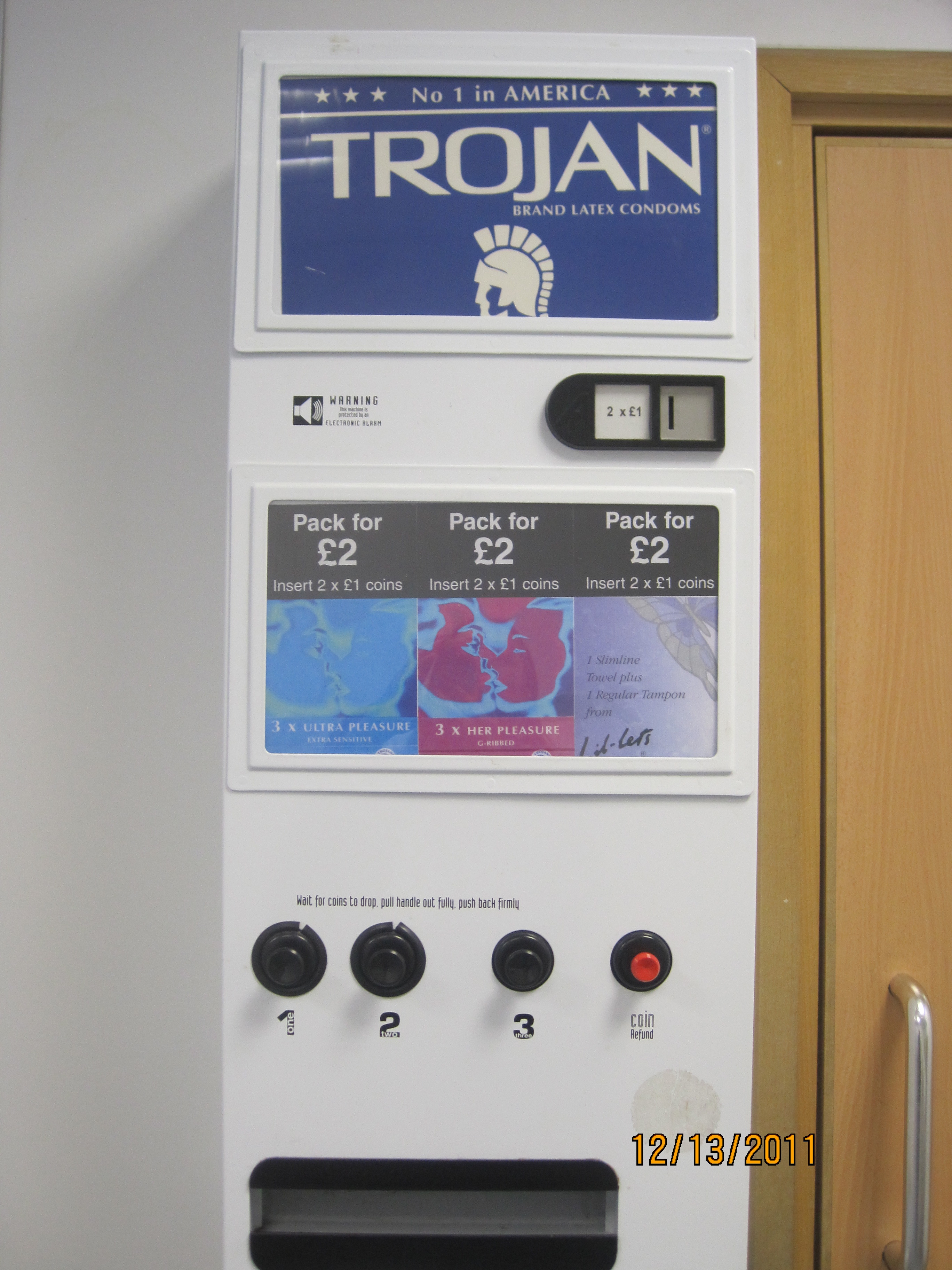 condom machines on campus ----condom vending machines probably will not be placed in the residence halls and student union building at lewis-clark state college, despite.
