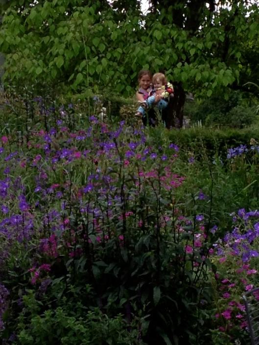 In Cambridge's Botanical Garden