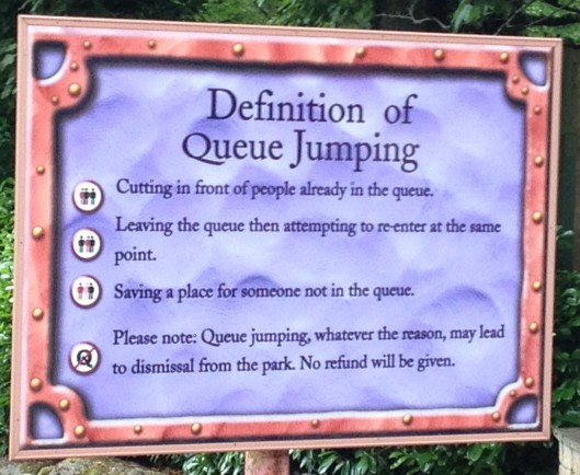 Rules on Queueing