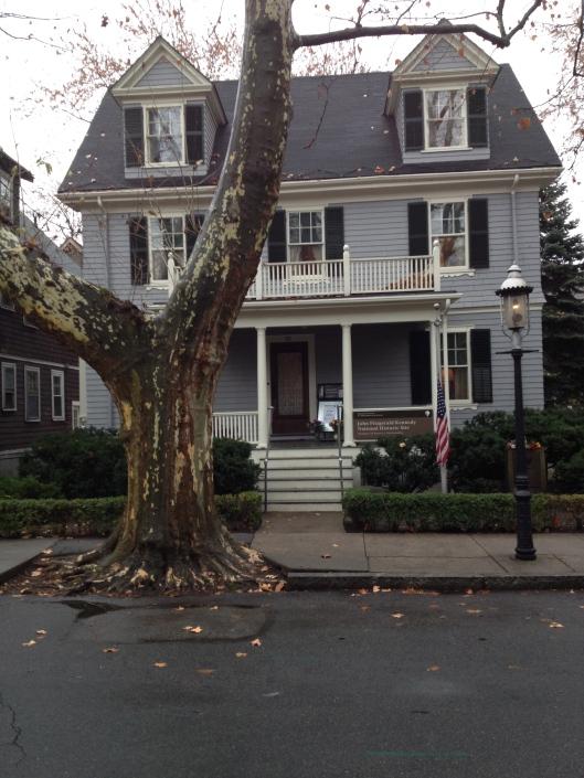 JFK's boyhood home on Beal Street