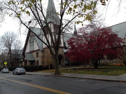St Aidan's Church where JFK worshipped as a boy.