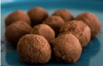 Chocolate truffles, yum!