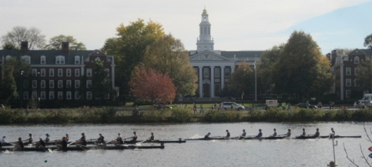 HBS and the Head of the Charles race.