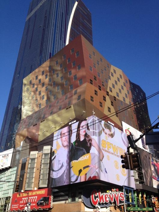 A strange New York building.