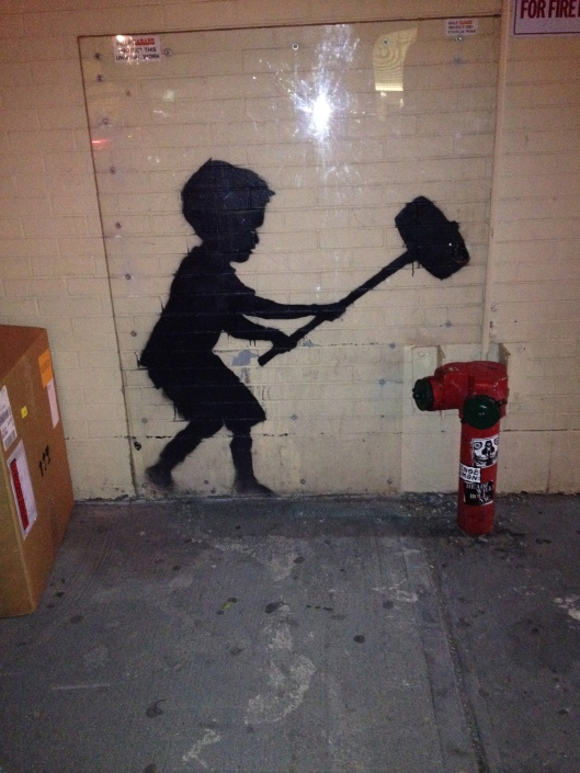 Banksy up close