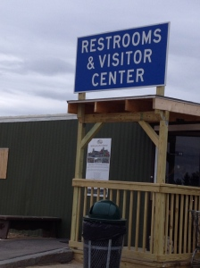 Which is most important, the restrooms or the visitors' center.