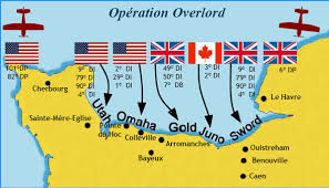 Map of Operation Overlord.  Courtesy, imgres.