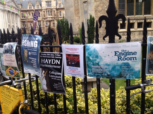 Notices of college events