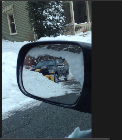Snowplow during the blizzard of 2015