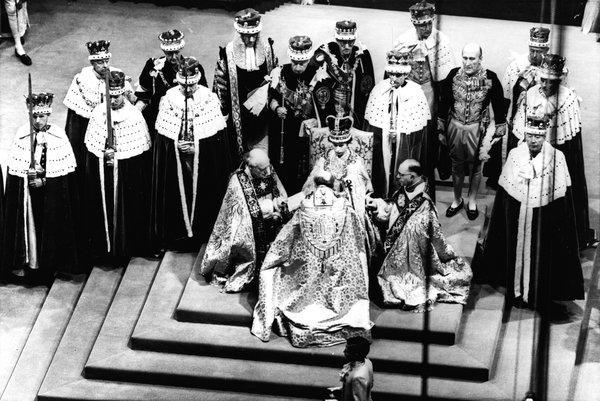 Queen Elizabeth's Coronation, courtesy A