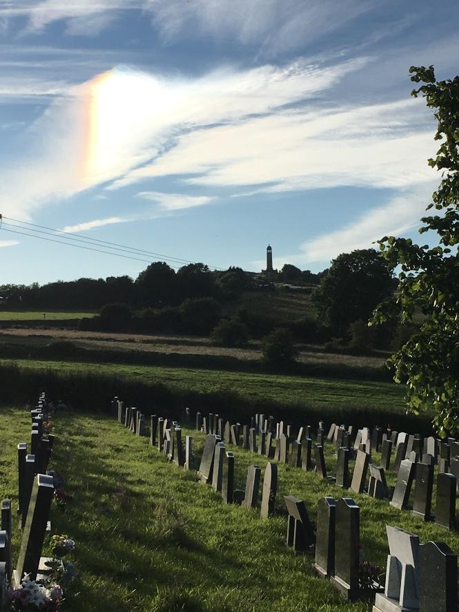 The village graveyard.