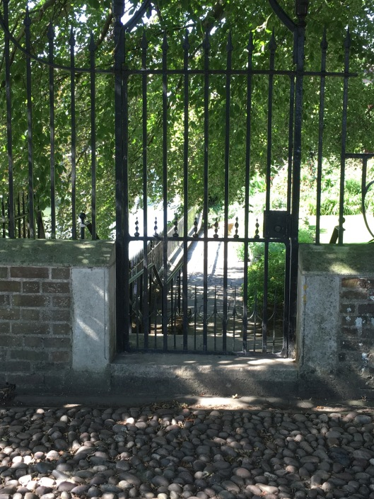 A gate at Clare.